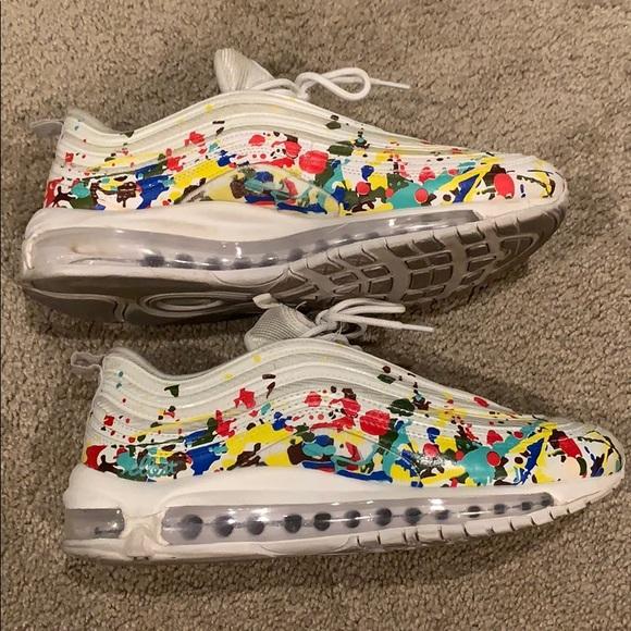Nike Shoes | Custom White Air Max 97s
